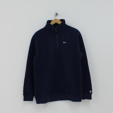 Tommy Hilfiger TJM Half Zip Fleece Navy - Pilot Netclothing