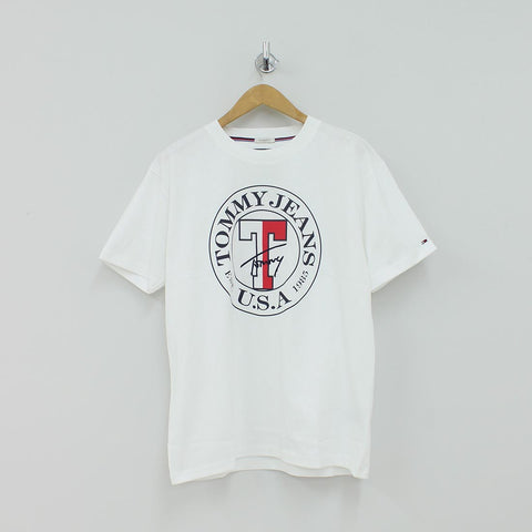 ea10663f Tommy Hilfiger TJM Circle T-Shirt White