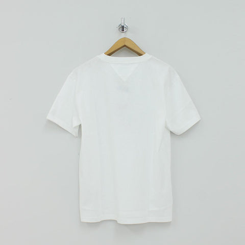 Tommy Hilfiger TJM Circle T-Shirt White - Pilot Netclothing