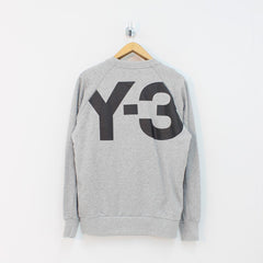 Adidas Y3 M CL Crew Sweat LB Grey
