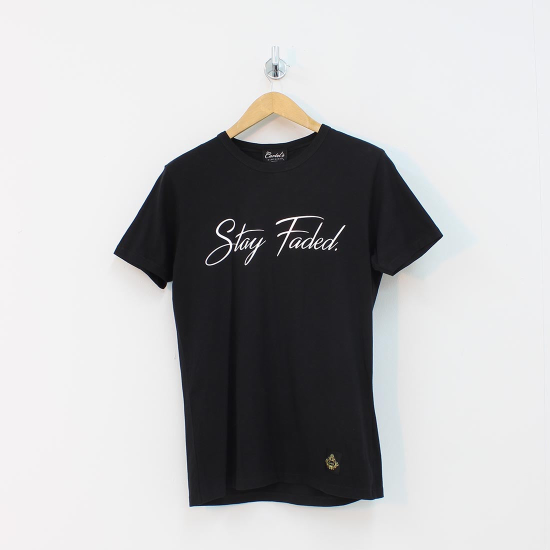 Cartels Clothing Stay Faded T-Shirt Black