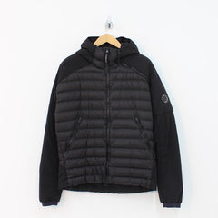 CP Company D D Shell Quilted Jacket Black