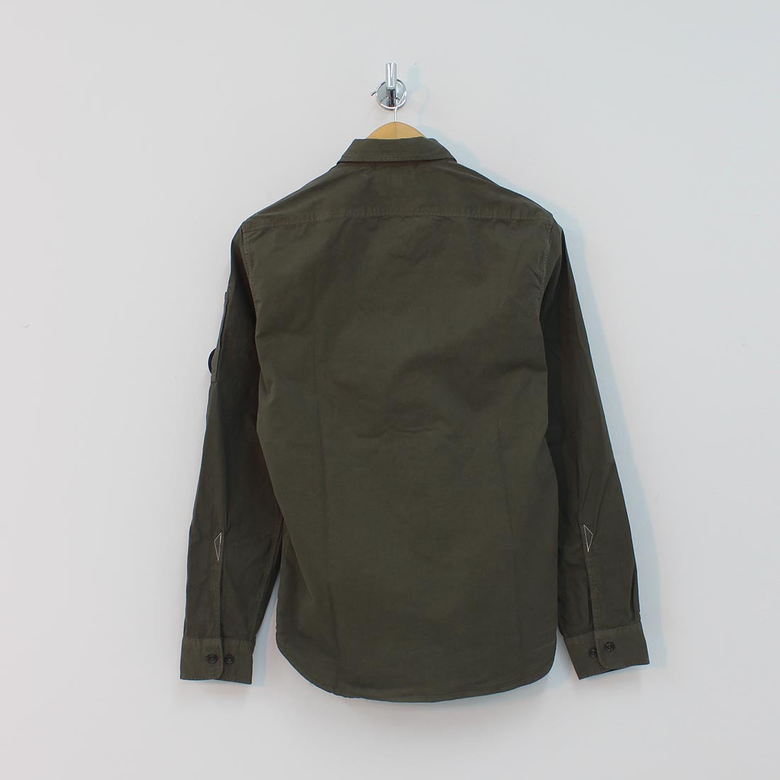 CP Company Arm Lens Shirt Green