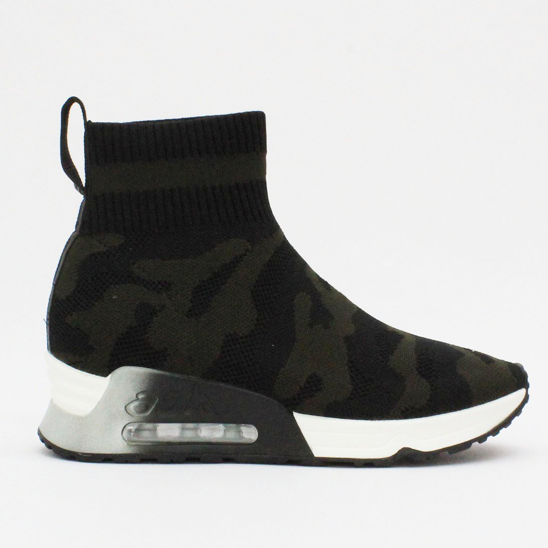 Ash Footwear Lulu Camo Trainer Black
