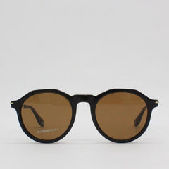 Givenchy 51QT Hex Top Frame Sunglasses Black