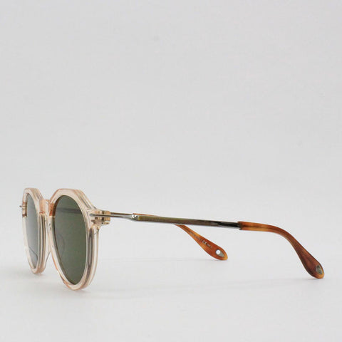 Givenchy 51QT Hex Top Frame Sunglasses Peach - Pilot Netclothing