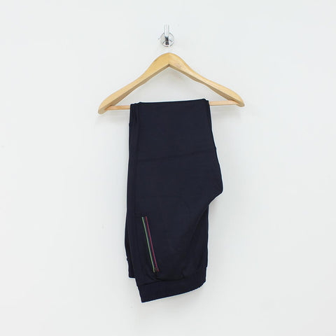 Paul Smith PS Colour Stitch Track Bottoms Navy