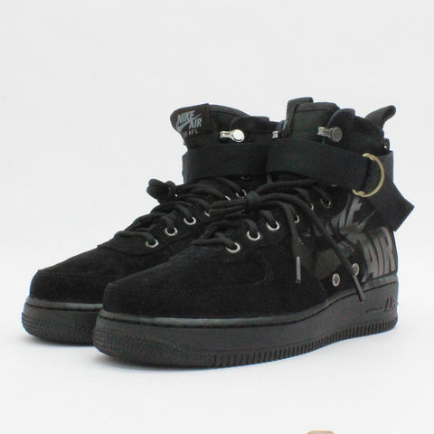 Nike Air SF Air Force 1 Mid Black - Pilot Netclothing