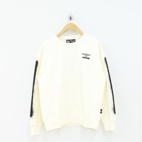 Boy London Boy Fake Sweat Shirt Off White