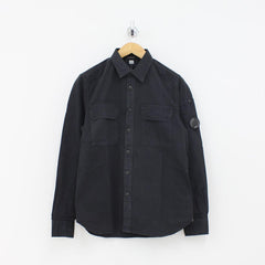 CP Company Arm Lens Shirt Grey