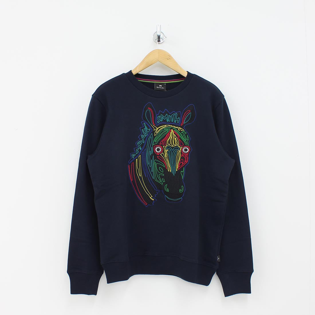 Paul Smith PS X Zebra Sweat Shirt Navy