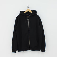 Axel Arigato Boxfit Zip Hooded Top Black