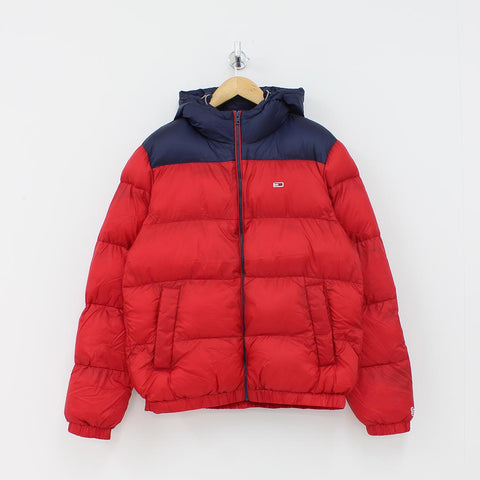 Tommy Hilfiger Classic Puffa Jacket Red