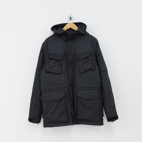 Christopher Raeburn Quilted Field Jacket Black - Pilot Netclothing
