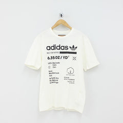 Adidas Originals Kaval GRP T-Shirt White