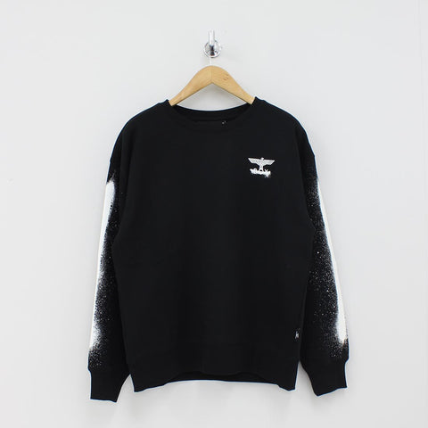 Boy London Boy Fake Sweat Shirt Off Black