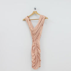Forever Unique Silky Dress Pink