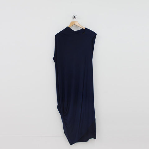 Vivienne Westwood Squires Jersey Dress Navy - Pilot Netclothing