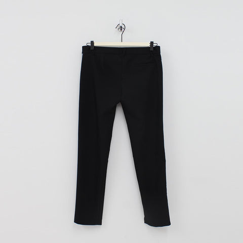 Versace Jeans Side Tape Trousers Black - Pilot Netclothing