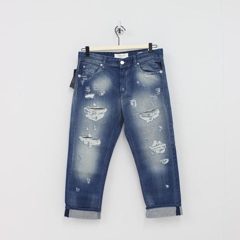 Replay Classic Befreind Jeans Blue - Pilot Netclothing