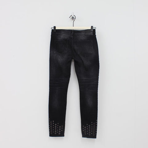 True Religion Washed Jeans Black
