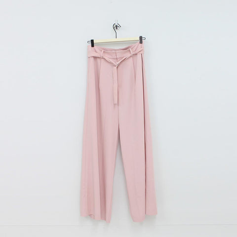 Jovanna Fluid Trousers Pink