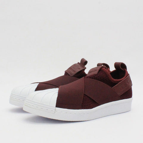 Adidas Originals Superstar Slip On W Burgundy B37371
