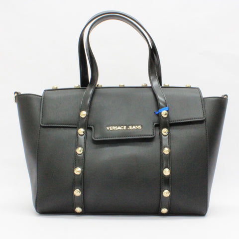 Versace Jeans Stud Edge Bag Black