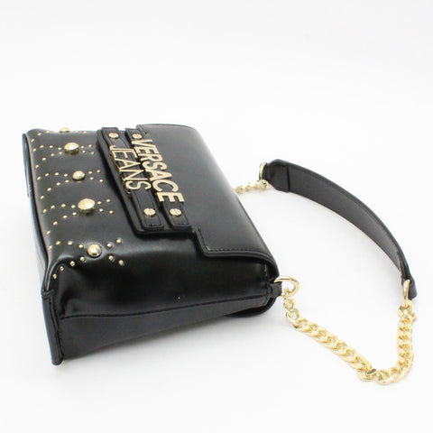 Versace Jeans Stud Detail Bag Black