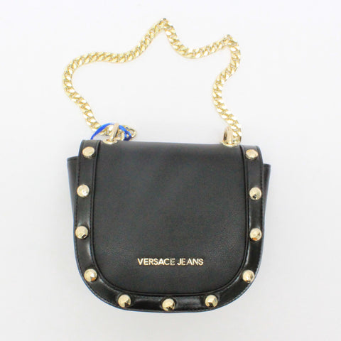 Versace Jeans Saddle Bag Black