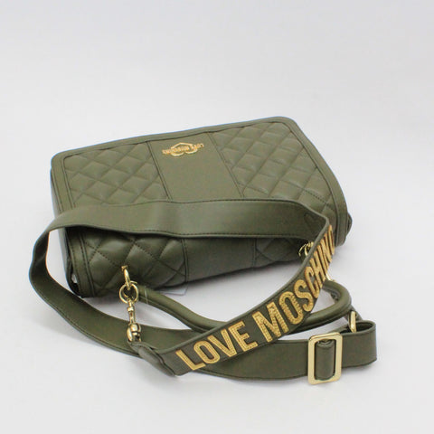 Love Moschino Quilted Cross Body Green