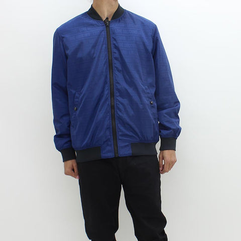 Love Moschino AoP Bomber Jacket Blue - Pilot Netclothing