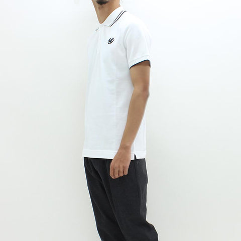 McQ By Alexander McQueen Swallow Polo White