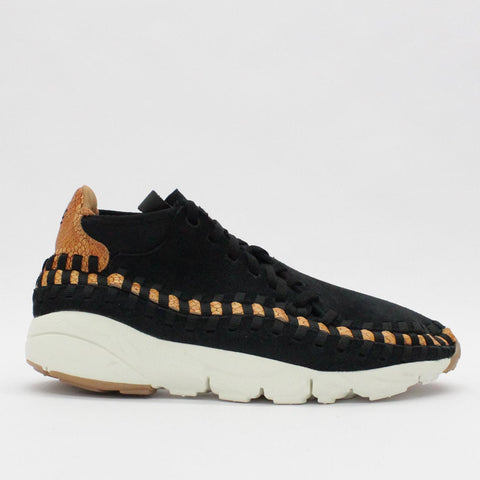 Nike Air Footscape Woven Chukka PRM Black 446337 002