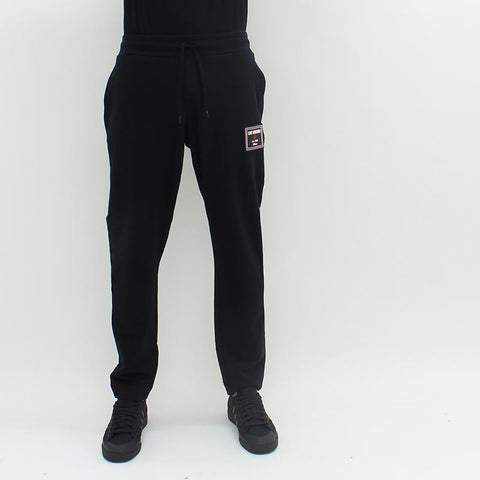 Love Moschino Rubber Badge Sweatpant Black - Pilot Netclothing