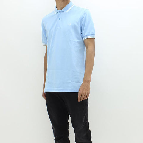 Fred Perry Twin Tipped Polo Blue