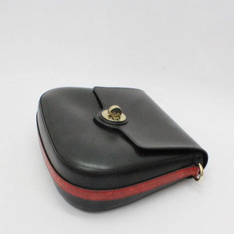 Emporio Armani Saddle Bag Black