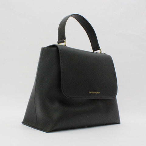 Emporio Armani Structured Work Bag Black