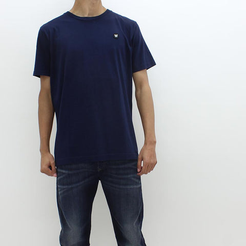 Wood Wood Double AA Tee Navy