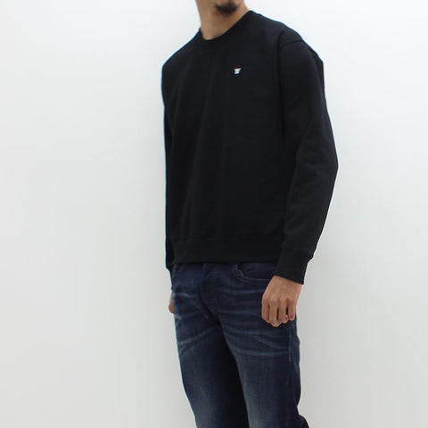 Wood Wood Double AA Sweat Black