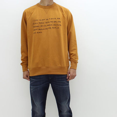 Wood Wood Hester Sweat Orange - Pilot Netclothing