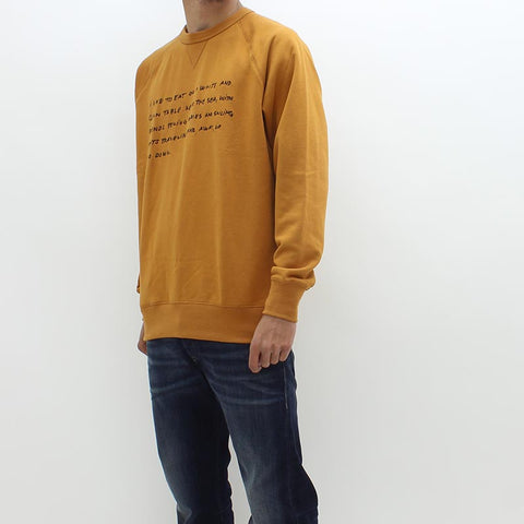 Wood Wood Hester Sweat Orange