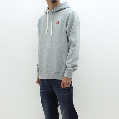 Wood Wood Double AA Hooded Sweat Grey