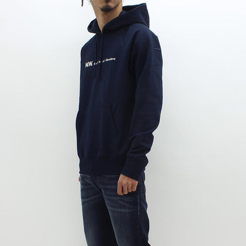 Wood Wood Raffi Hooded Sweat Navy - Pilot Netclothing