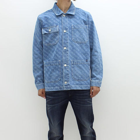 Wood Wood Ludo Vintage Denim Jacket Blue