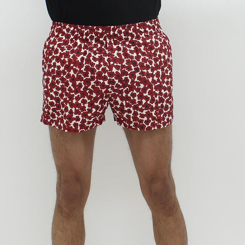 Wood Wood Brandon Floral Short Red - Pilot Netclothing