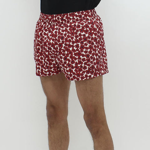 Wood Wood Brandon Floral Short Red