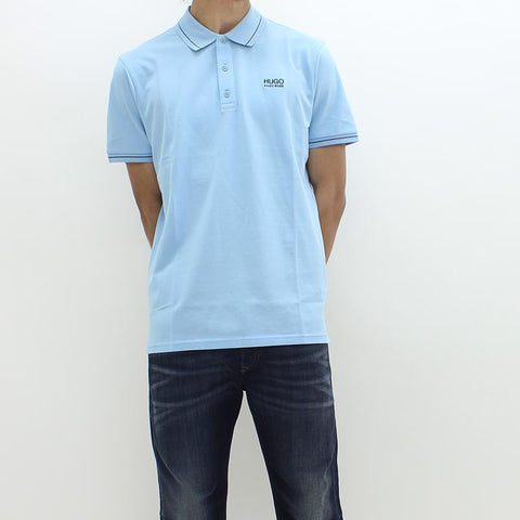 Hugo By Hugo Boss Daruso Polo Blue - Pilot Netclothing