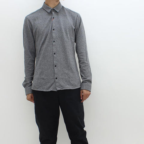 Hugo By Hugo Boss Ero-w Shirt Grey - Pilot Netclothing