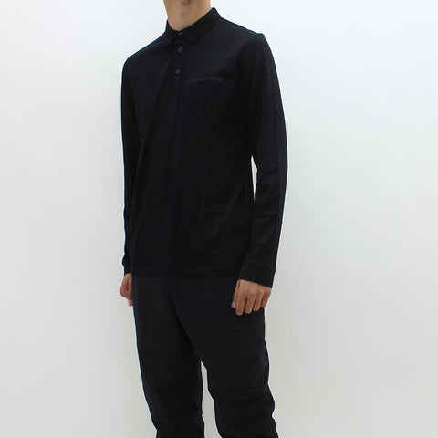 Hugo By Hugo Dwoon Polo Shirt Black - Pilot Netclothing
